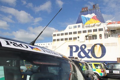 Accross the Channel with P & O