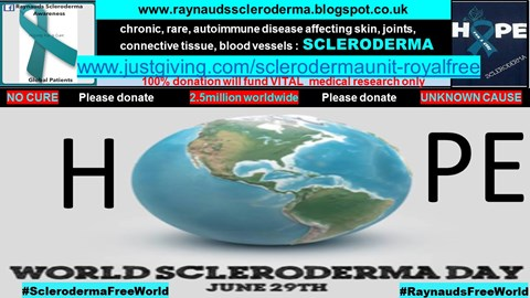 29th June World Scleroderma Day 2017