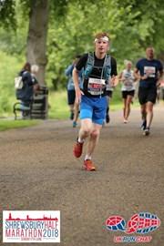 During the Shrewsbury Half marathon.