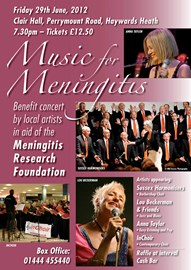 Music for Meningitis Concert