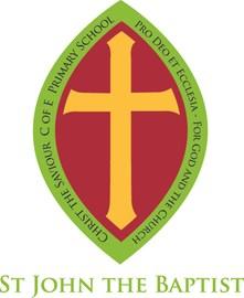St John the Baptist house badge