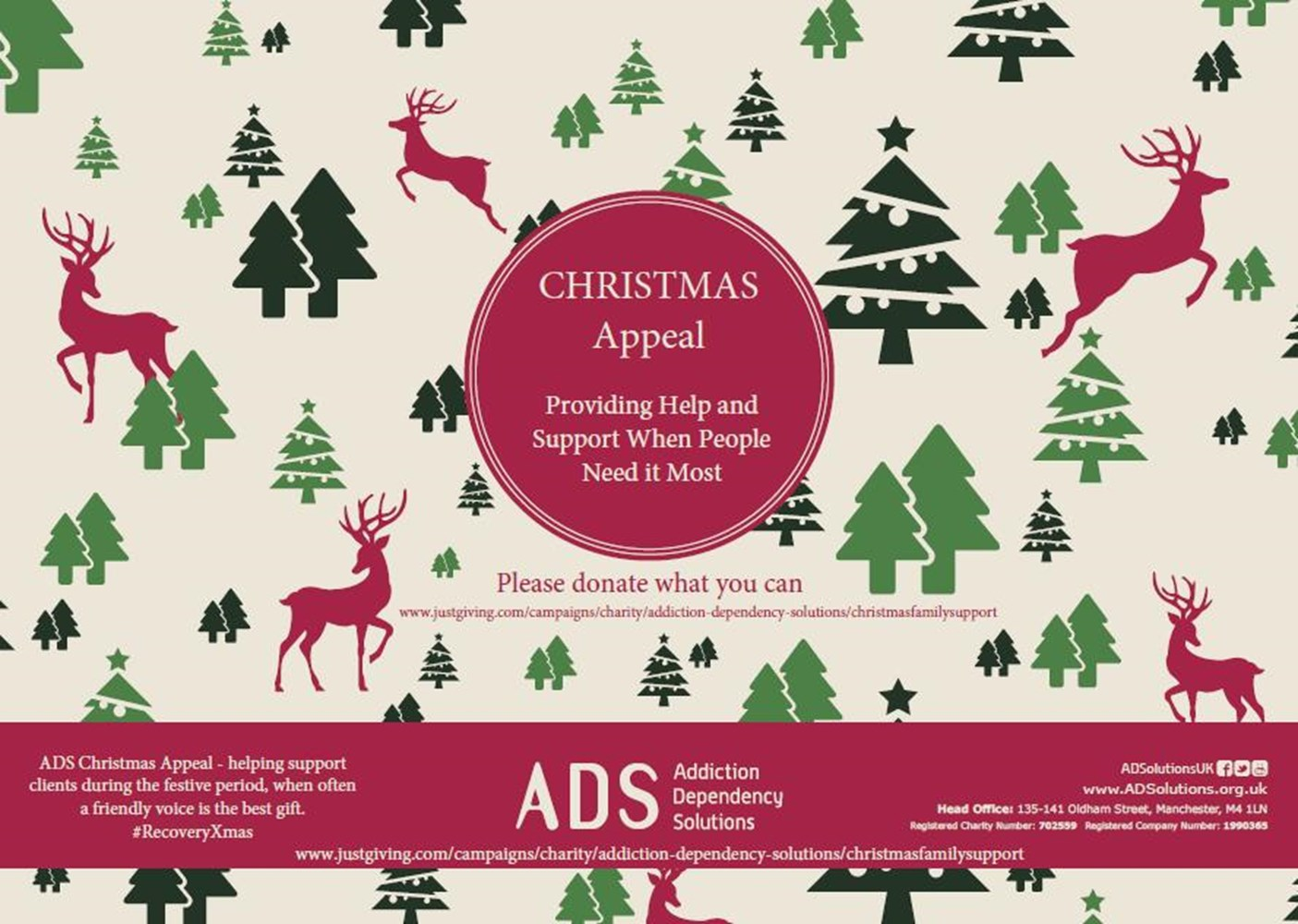 ADS Christmas Campaign: Supporting Families - JustGiving