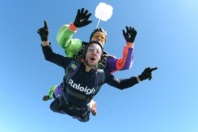 Skydiving...simply amazing