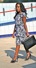 Dress by my sponsor Qutefashion