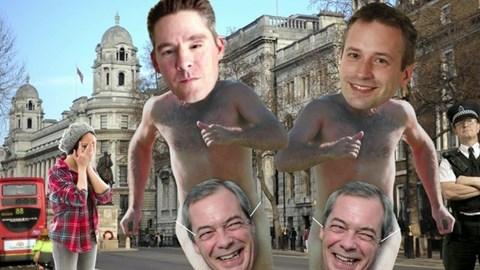 BBC Daily Politics photoshop job (I won't wear the Farage mask)