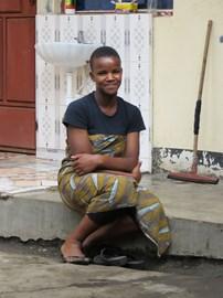 Fortunata, one of the kids we sponsor