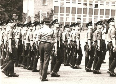 The start - Basic Training 1979
