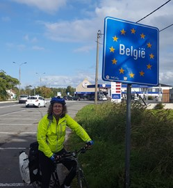 From our last overseas ride to Brugges