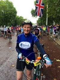 I've been drier in a bath but great fun & thank you for sponsoring me!