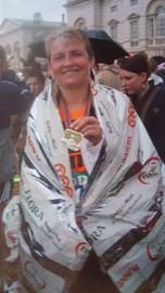 My first London Marathon