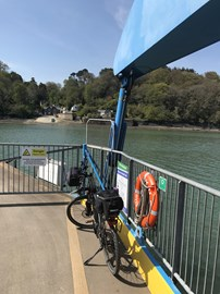 Another 60 plus miler on the King Harry Ferry