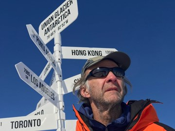 Arrival in Antarctica