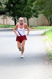 Jonathan running again in Johannesburg