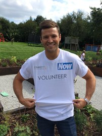 Mark Wright joins Now as a volunteer