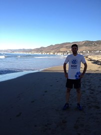 Michael Dougall has just completed a 10k somewhere on the West Coast of America for MNDS. Well done Michael!
