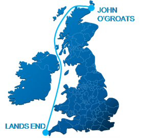 Length of Britain Record Route