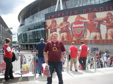 Me at the emirates
