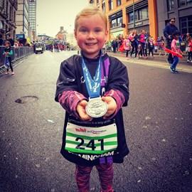 Mini Great Birmingham Run FINISHER!