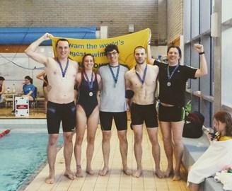 The 2017 Swimathon Team