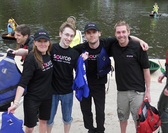 Source at the 2010 Coracle Relays!