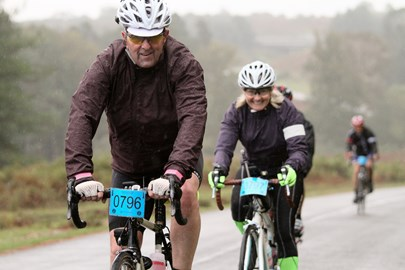 New Forest 81 mile Sportive (after food poisoning!)