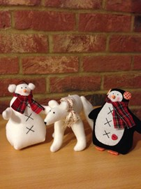 Some festive friends.  All sold out!