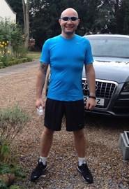 Before a run