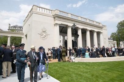 The Bomber Command Memorial, Green Park.