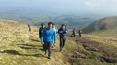Training on the beautiful Brecon 14/4/2018