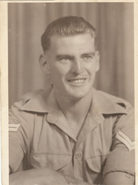 Dad when he was in the army