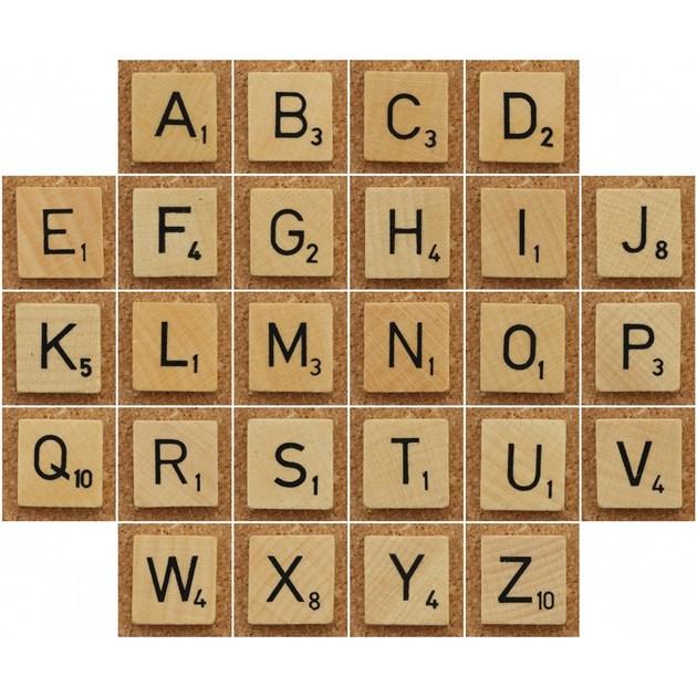 Scrabble letters  Etsy
