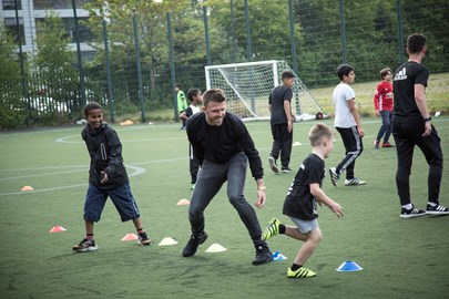 The Michael Carrick Foundation at Work