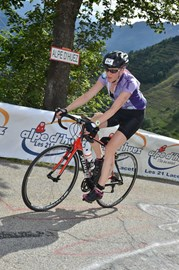 Climbing up the Alpe!