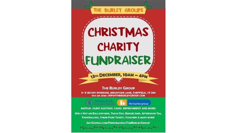 Christmas Fundraiser.Stella Sedgwick Is Fundraising For Weston Park Hospital