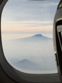 Kili from the air