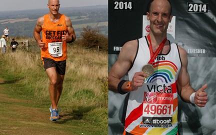 Buster Hill Challenge & London Marathon