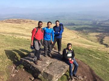 Our Team - Guru, Gopi , Kumar and Me