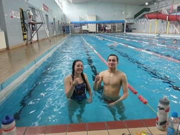 Amy & Toby 10k Swim
