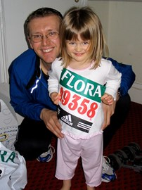 Preparing for the London Marathon 2008