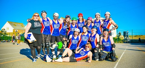 Bristol Roller Derby Women's A Team