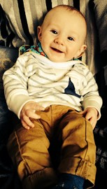 Theo aged 4 months