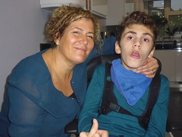 Dylan and his mum