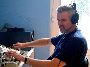 Terry Operating His Station