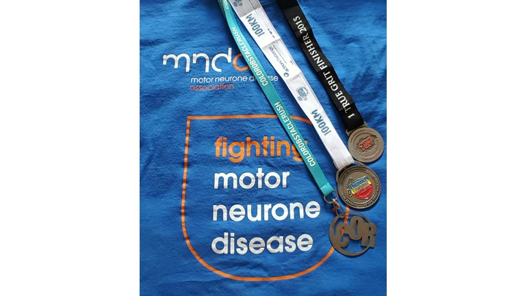 Rebecca Godfrey Is Fundraising For Motor Neurone Disease