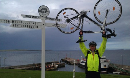 LEJOG..done! 8 Days, 23 Hours and 29 Min