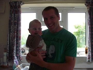Me and Benjamin (June 2009)