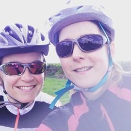 Jodi_Key training ride selfie!!! great work