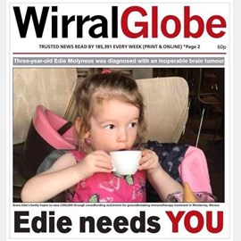 Wirral Globe Front Page
