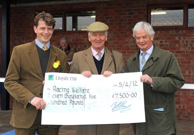 Ludlow Race day raised £28k for Barney