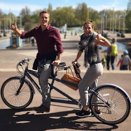 Today was our first time on a tandem. Absolutely loved it!!!